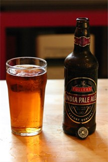 India Pale Ale Bottle and Glass